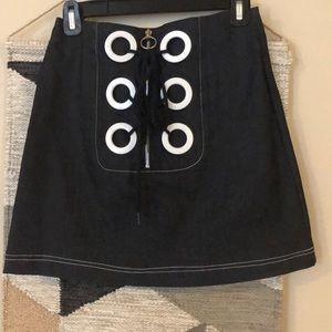 Pixie market denim mini skirt small